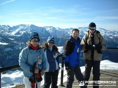 Esquí Baqueira - conocer gente; rutas trekking; rutas por cercedilla